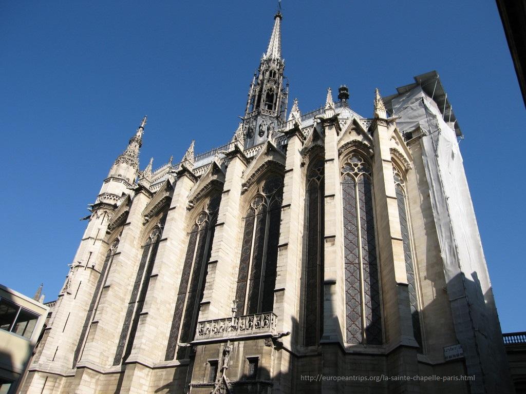 La Saint Chapelle, Paris