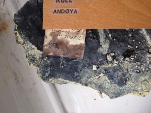 Example of pyrite oxidation